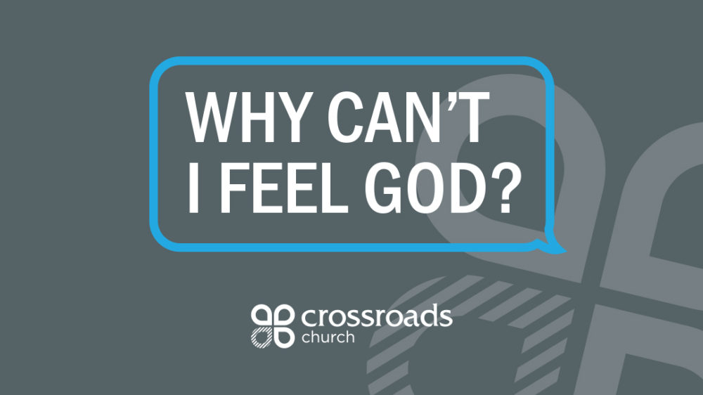 Why Can't I Feel God? Image